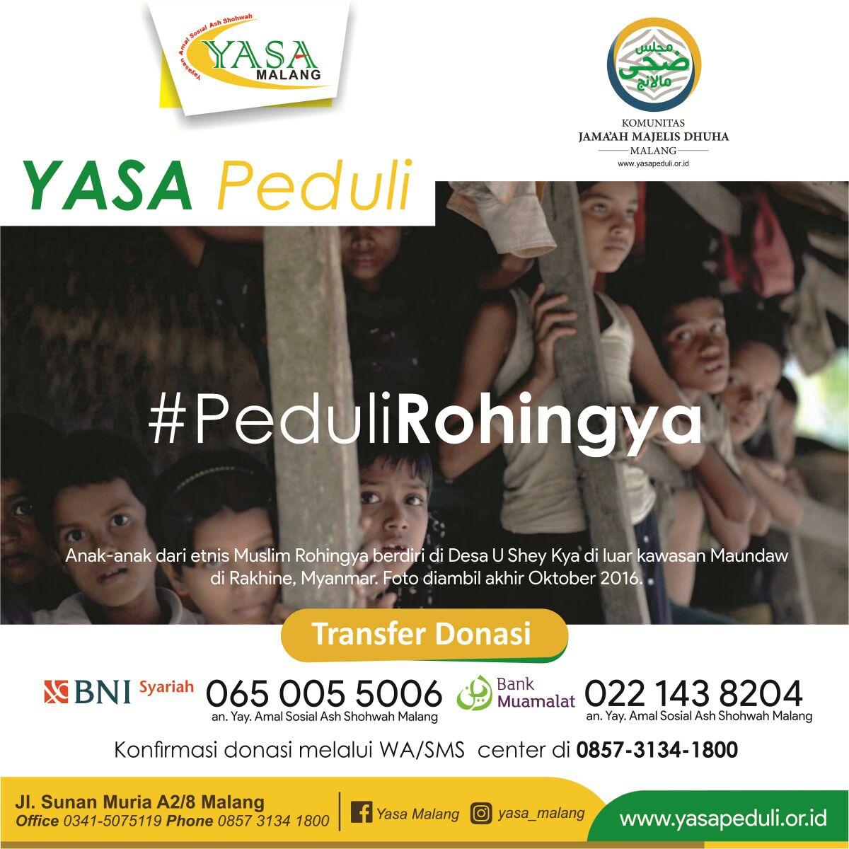 Berbagi untuk Rohingnya